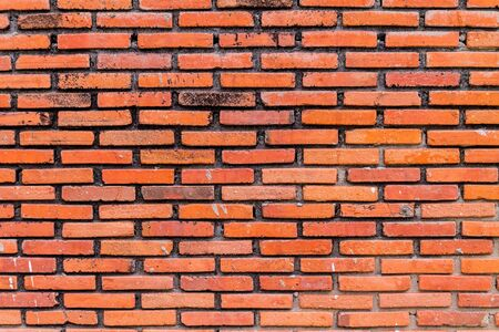 red brick wall for backgrounds or wallpaper Stock Photo - 17628079
