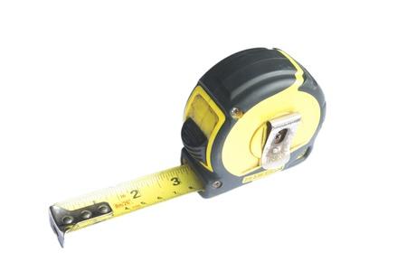 black cartridge meter isolated on white background Stock Photo