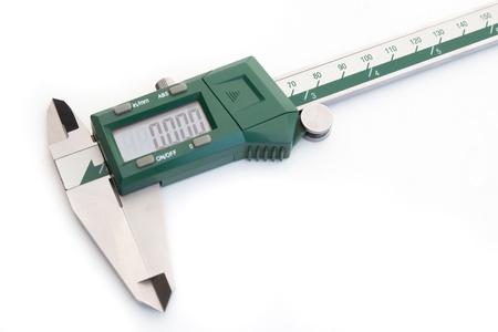 verniercaliper type digital on white background