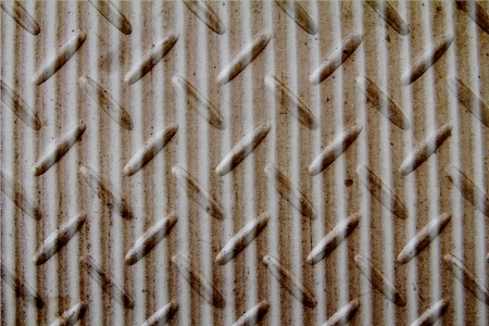 abstract background of checker plate and Corrugated Paper photo