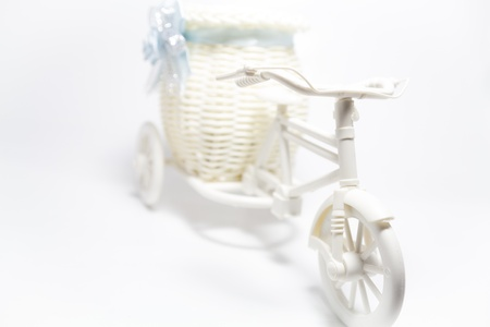 bicycle toy with little basket
