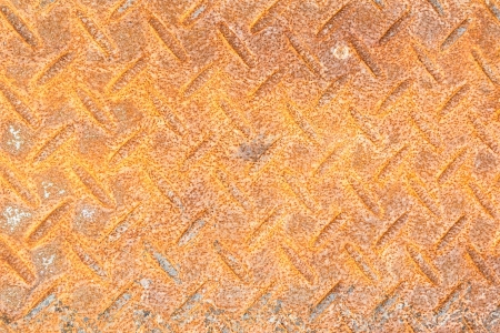 cross hatched: old checker plate floor surface texture steel grip metal grating