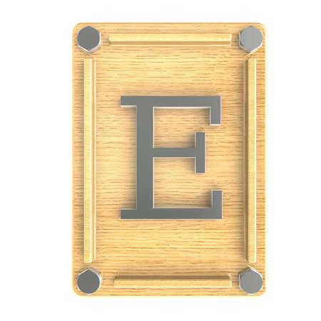 """Alphabe """"E"""" inoxid"""
