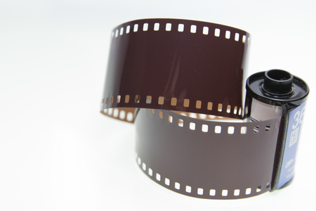35mm film negative for old camera photo