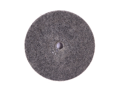 grinding teeth: Abrasive disks for metal grinding, cutting on white background