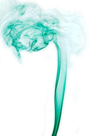 Fumaça fundo abstrato, fumaça colorida de Joss vara