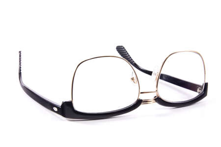 Eyeglasses isolated on white background photo