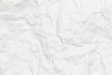 White creased paper background texture. White paper sheet. 스톡 콘텐츠