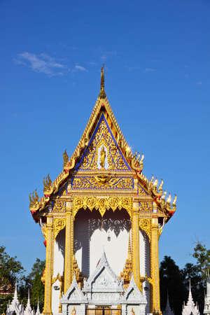 nonthaburi: beautiful temple wat bang-pai nonthaburi thailand
