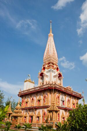 beautiful temple at phuket thailand