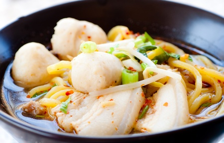 delicious chinese noodle