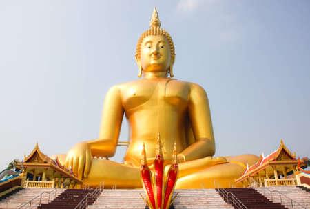 big buddha statue in thailand