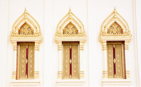 thai art windows photo