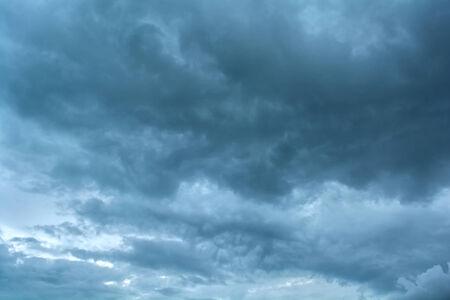 horrifying: Dark clouds horrifying Stock Photo