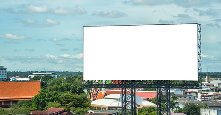billboards advertising banner empty backgrounds