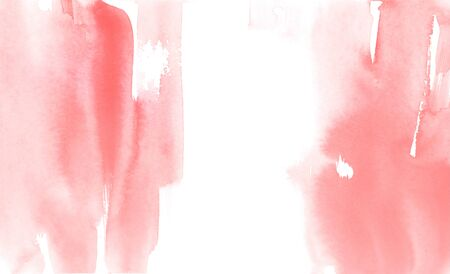 abstract red watercolor backgrounds, hand paint on paper.