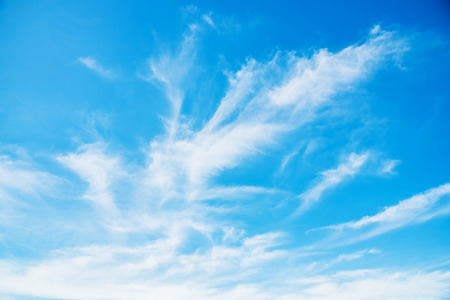 abstract streaky clouds in the sky 版權商用圖片