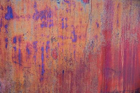 dirty sheet: rusty texture