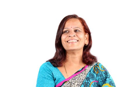 Middle Aged Indian Woman