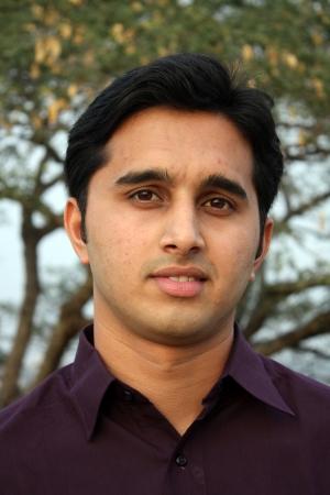 var�n: Un retrato de un joven indio.