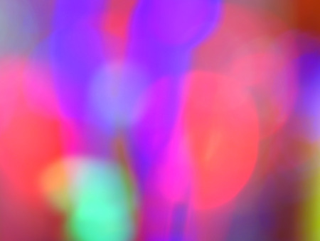 hues: A background with blur pattern of different bright colored hues                                Stock Photo