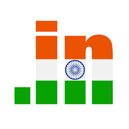 meant: .in domain registry logo meant for registrations of Indian domains