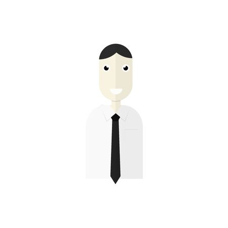 incomes: Businessman Illustration