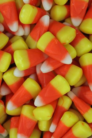 Halloween candy corn Stock Photo - 5551526