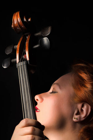 Woman With Cello