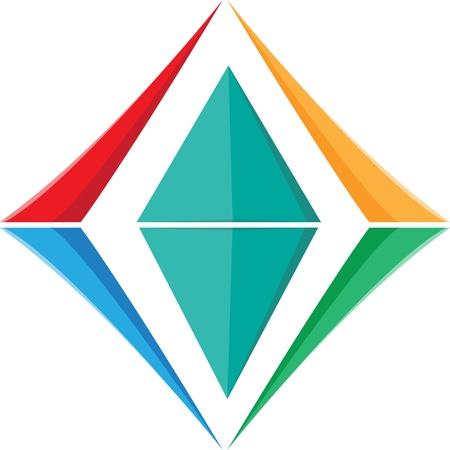 Crystal icon Stock Vector - 18306940