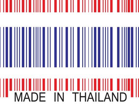 codigos de barra: Hecho en Tailandia