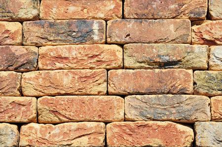 clinker: Colorfull Old, Vintage Luxury Ceramic Clinker BrickTextured Wall Background