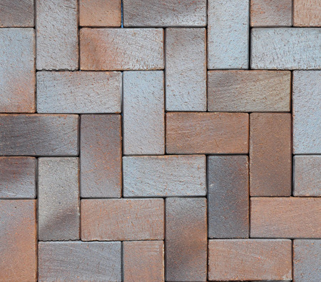 clinker tile: Beautiful Colorful Luxury German Vintage Ceramic Clinker Pavers for Patio. Floor pavers in a path, detail of a pavement to walk, textured background