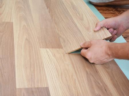 라미네이트 바닥 설치. 나무 라미네이트 바닥 설치. 단계별.
