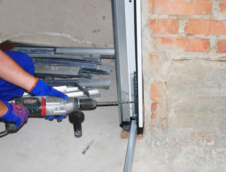 Garage Door Installation & Replacement. Install Garage Door & Garage Door Opener. How to Install a Garage Door. One of the most important parts of assembly for Garage door opener motorized device.