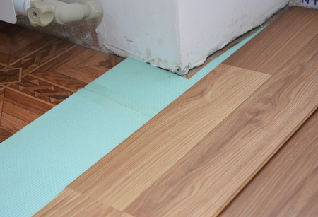 Home Improvement Installing Laminate Flooring In Problem Area