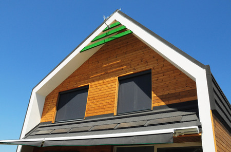 Windows Shades Protection Against Sun and Heat. Use Windows Shades, Blinds, Curtains for House Energy Efficiency.