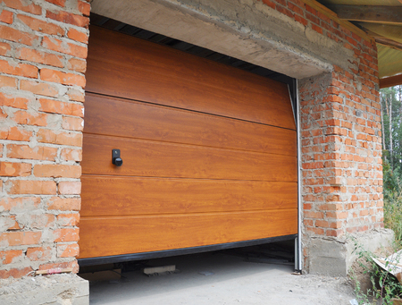 Install New House Garage Door.  Garage Door Installation.