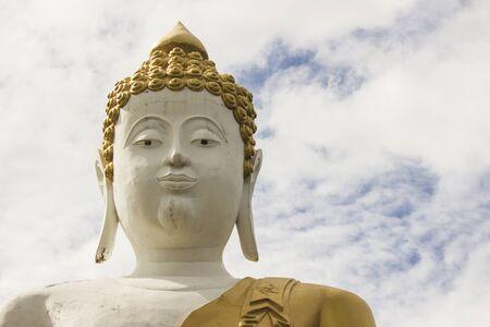 head stones: Buddha statue