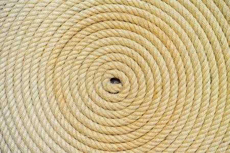 trenzado: fondo de la cuerda doblada h�lice Foto de archivo