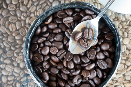 coffee beans Stock Photo - 15730068