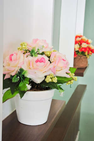 Colorful Artificial Flower photo