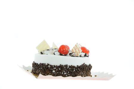 birthday cake isolate on white background