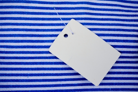 Sale Tag on bag photo