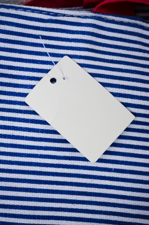 Sale Tag on bag Stock Photo - 16462100