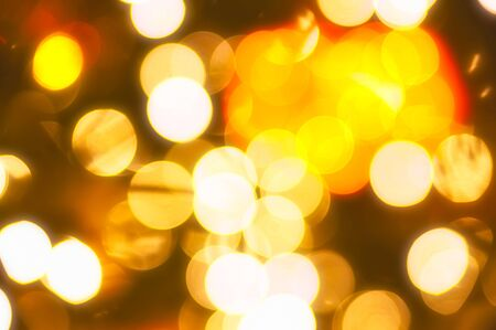 Abstract circular del bokeh de fondo de Christmaslight photo