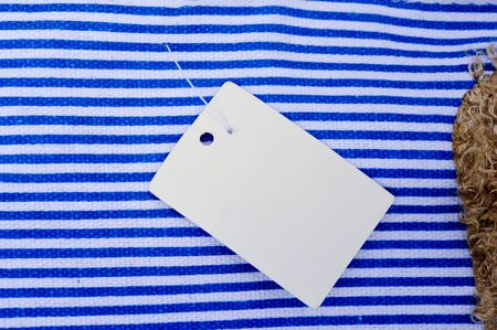 Sale Tag on bag Stock Photo - 16962248