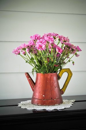 flower in vase photo