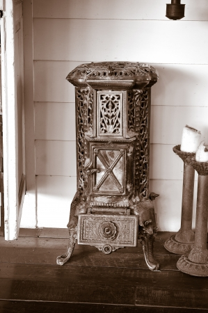 vintage Stove Stock Photo - 17251507