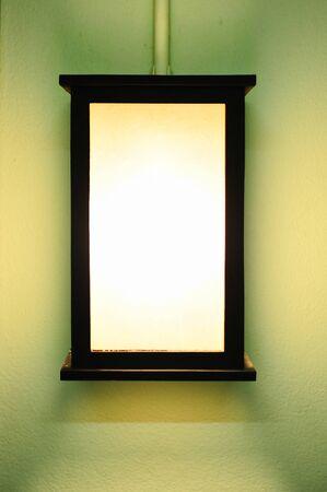 light box on wall Stock Photo - 17481023